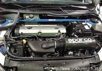 Boite a air dynamique 206 s16